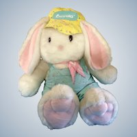 "Easter Crayola Crayon Bunny Rabbit Hallmark 1989 - 1990 Limited Edition Huge 41"" inches Tall Stuffed Plush Animal with Original Tush Tag"