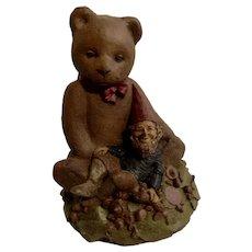 Tom Clark's Creations 'Hunny' Teddy Bear Gnome Ben 1984 Figurine