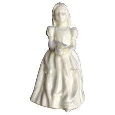 Wedgwood Flower Girl Wedding 1996 Bone China Figurine England