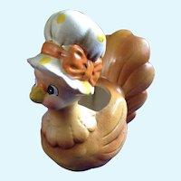 Rare Josef Originals Mother Hen Anthropomorphic Planter