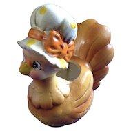 Rare Josef Originals Mother Hen Small Chicken Anthropomorphic Planter Made in Japan