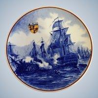 Galleria Ceramica Villeroy & Boch 1981 Limited Edition Collectors Plate The Navel Battle at Trafalgar 1805 Napoleonic War