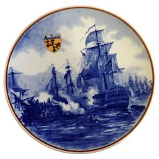 Galleria Ceramica Villeroy & Boch 1981 Limited Edition Collectors Plate The Navel Battle at Trafalgar 1805 Napoleonic War