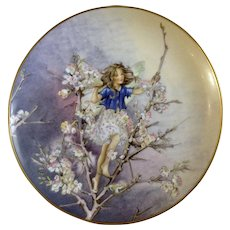 1981 Blackthorn Fairy Collectors Plate Flower Fairies by Heinrich H&C Villeroy Boch Germany Discontinued
