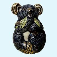 Koala Bear De Rosa Artesania Rinconada AR744 S.A. Figurine