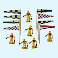 Circus Toppers Cake Decoration Cupcake Picks Plastic Hong Kong Figurines