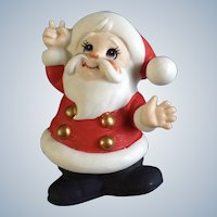 Adorable Lefton Santa Claus Figurine Nite Light With Switched Cord Saint Nick Japan