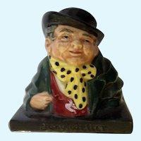 Royal Doulton Tony Weller Small Porcelain Figurine Bust 8318