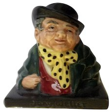 Royal Doulton Tony Weller Small Porcelain Figurine Bust 8318