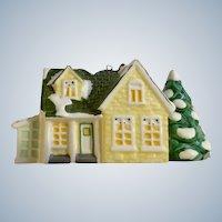 DEPT 56 Christmas Snow Village Classic Tree Ornament Series Nantucket Ceramic Figurine #98630 Retired In Box