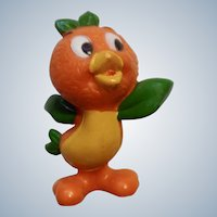 "Walt Disney World Production Orange Bird Florida Figurine Standing 2-1/2"" Rare"