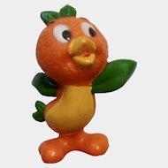 "Walt Disney World Production Orange Bird Florida Figurine Standing 2-1/2"" Rare"