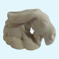 Listerine Shaving Cream Offer Donkey Used Razor Blade Bank  Figurine