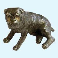 Sharpei Dog Rawcliffe Pewter P. Davis Miniature Animal Figurine