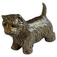 Westie Dog Rawcliffe Pewter P. Davis Miniature Animal Figurine
