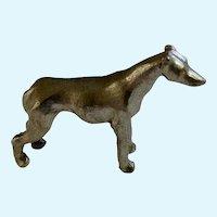 Grayhound Dog Rawcliffe Pewter P. Davis Miniature Animal Figurine