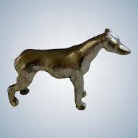 Grayhound Dog Rawcliffe Pewter P. Davis Miniature Animal Figurine