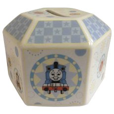 Thomas The Train Coalport Characters Gullane Collectors Hexagon Porcelain  2005