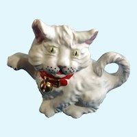 Price & Kensington White Kitty Cat Teapot P&K England
