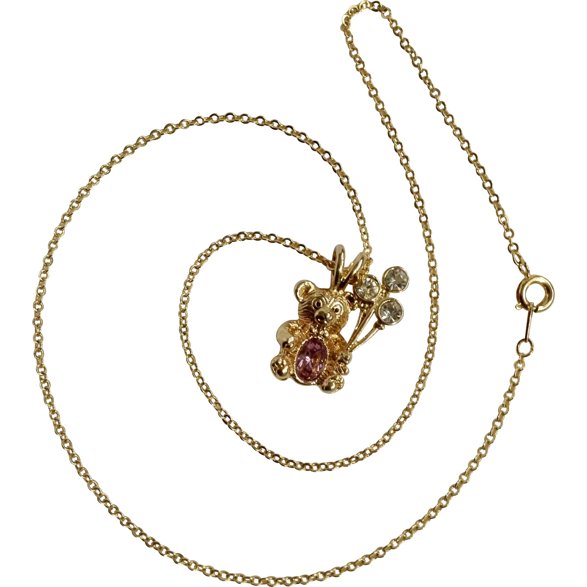31mm x 25mm 925 Sterling Silver Yellow Gold-Plated Bear Hugs Charm Pendant with 2 Birthstones