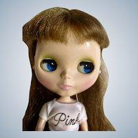 Blythe Doll Takara Hasbro 2002/2003 Golden Brown Hair Changing Eyes Shiny Complexion Blythe Logo