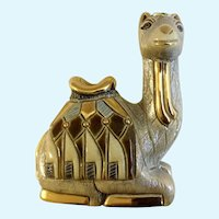 Camel Artesania Rinconada #718 Silver Anniversary Collection Figurine  Uruguay
