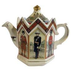 James Sadler 'Best of British' Series Teapot - Tower of London Porcelain Ceramic Made in England