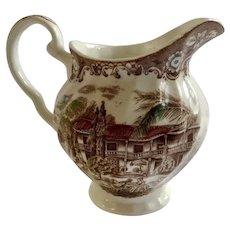 Johnson Bros Heritage Hall SR Creamer England Spanish American Hacienda Retired 1969 - 1985 Ceramic Pottery