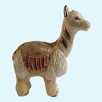 Artesania Rinconada DeRosa Llama Silver Anniversary Collection Ceramic Figurine