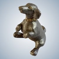 Dachshund Dog Rawcliffe Pewter P. Davis Miniature Animal Figurine Doxin