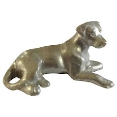 Labrador Retriever Rawcliffe Pewter P. Davis Miniature Animal Figurine