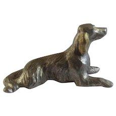 Irish Setter Rawcliffe Pewter P. Davis Miniature Animal Figurine