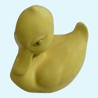 Easter California Pottery Yellow Duck by Hammersley Santa Ana Ceramics