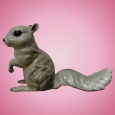 Rare Josef Originals Gray Squirrel Begging to be Feed Ceramic Animal Figurine Made in Japan
