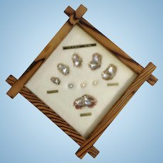 Beautiful Life of a Cultured Pearl in Natural Wood Frame