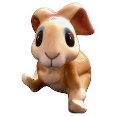 Adorable Vintage Smiling Bunny Rabbit Ceramic Bank Figurine Capilano Vancouver Canada