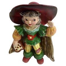 Mid-Century Napco Pirate Girl Bobby Shaftoe Figurine Japan