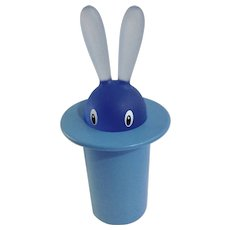 Magic Hat Bunny Rabbit Toothpick Holder Alessi  Italy Italian designer Stefano Giovannoni