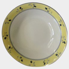 Royal Doulton Blueberry Round Vegetable Serving Bowl Ceramic Dish New In Box NIB