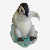 Playful Penguins, Look Out Below! The Hamilton Collection 1996 Figurine