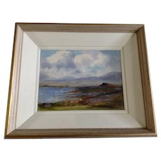 Patrick Kearney, Countryside Landscape Connemara Ireland Oil Painting on Canvas Signed by Artist