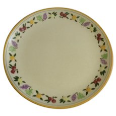 """Franciscan Small Fruit 12"""" Chop Plate/Round Serving Platter California Pottery"""