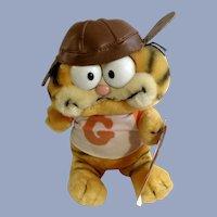 Garfield The Cat Football Player Plush Stuffed Animal Dankin
