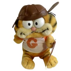 Garfield The Cat Football Player Plush Stuffed Animal Dankin
