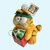 1981 Garfield The Cat Shop Tip You Drop! #15-4120 Plush Stuffed Animal