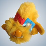 1981 Garfield The Cat Blow Dry Kitty Medium I'm Yours #03-4000 Jim Davis Plush Stuffed Animal By Dankin with Original Tag