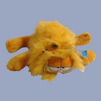 Garfield The Cat Hand Puppet Plush Blown Dry Fluffy Kitty