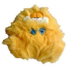 Rare 1981 Garfield The Cat Fluffy Kitty, Bowtie Guy #89-1290 Jim Davis Plush Stuffed Animal By Dankin with Original Tag