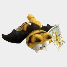Garfield The Batty Vampire Bat Stuffed Plush Animal 1981 Dakin #16-0400