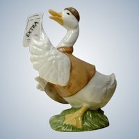 Goose Paperboy Porcelain Figurine Enesco From Mother Goose Series Malaysia